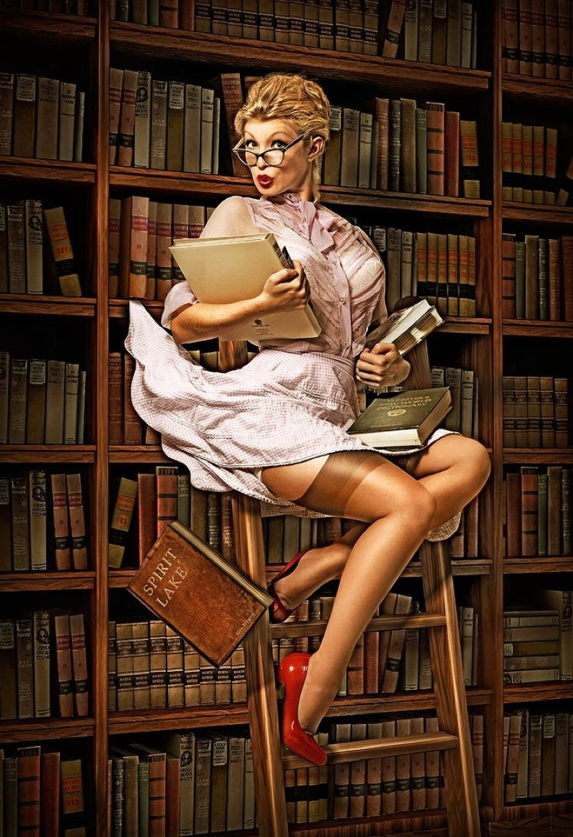 Hot librarian old sexy